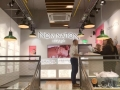 3D LED reverse lit Nomination lettering, LED track lighting, digital screen & Fabexx fabric graphics in Argento store Nottingham