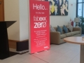 Visual Edge Fabexx ZERO Red 1x2m double-sided