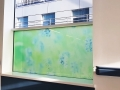 Digitally printed window obscuring film in Royal Victoria Hospital